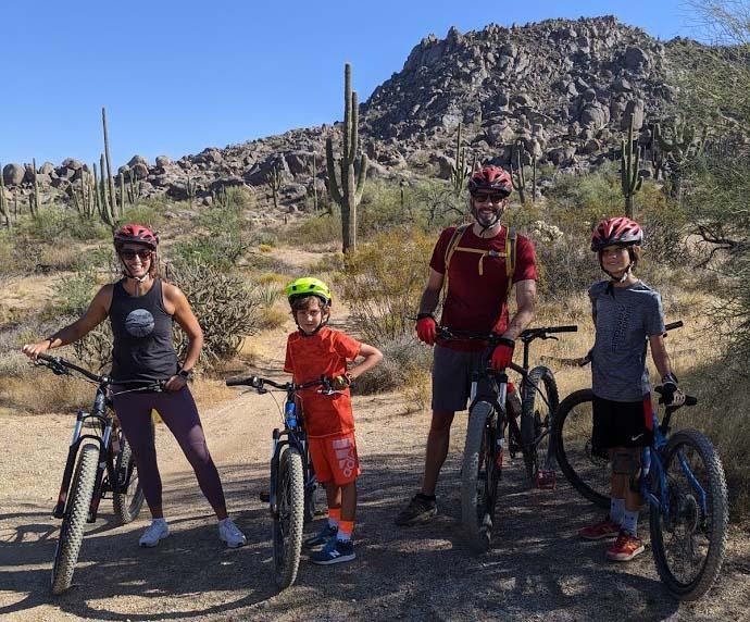 Family Friendly Mountain Bike Tours in Phoenix and Scottsdale AZ