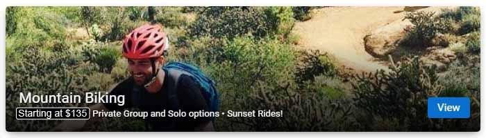 Mountain Biking Tours in Phoenix and Scottsdale AZ