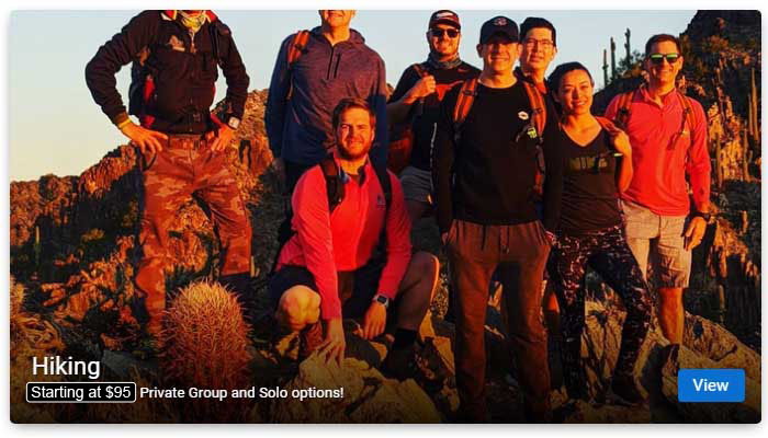 Hiking Tours in Phoenix and Scottsdale AZ