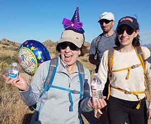 Birthday Party Hike in Phoenix AZ