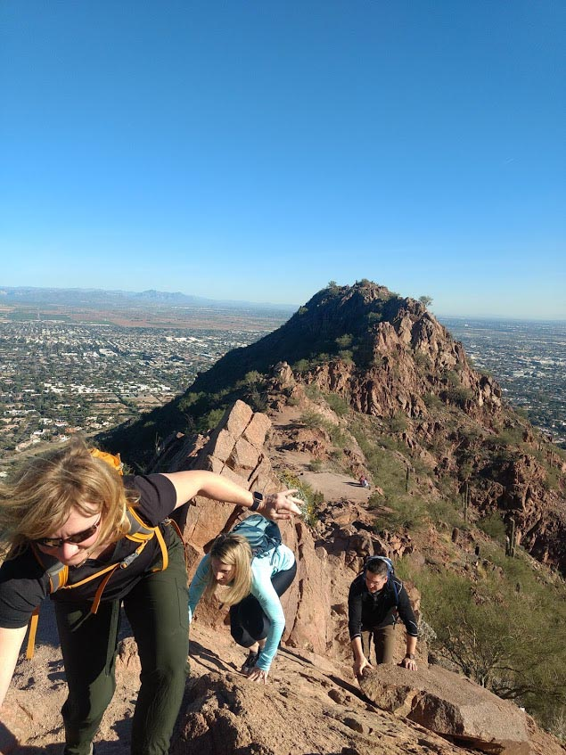 Scottsdale Guided Hiking Tour of Camelback Mountain