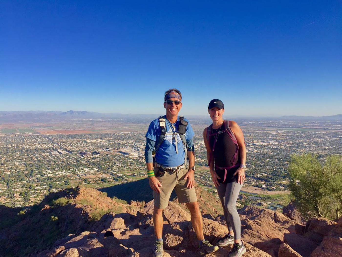 Camelback Mountain Scottsdale AZ - The View From The Top