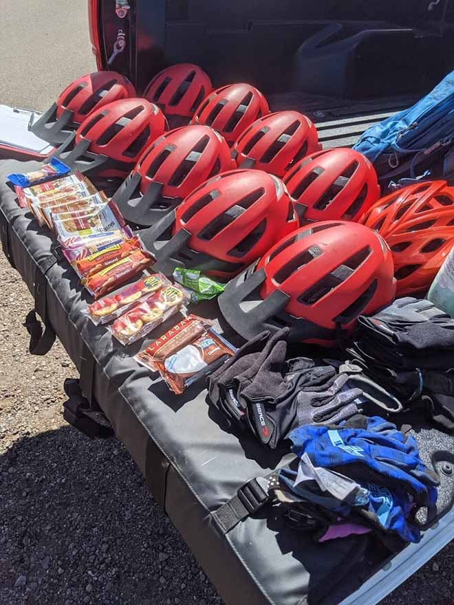 Gear and Snacks
