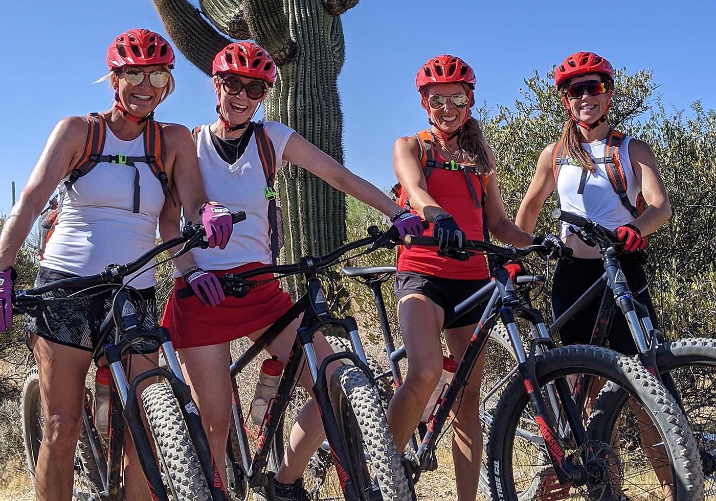Ladies Guided Mountain Bike Tour in Scottsdale AZ