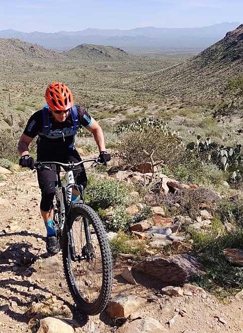 Mountain Biking in Sonoran Desert