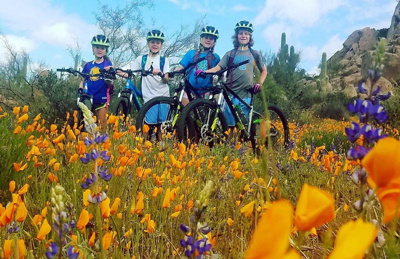 Mtn Biking Tour for Kids in Phoenix AZ