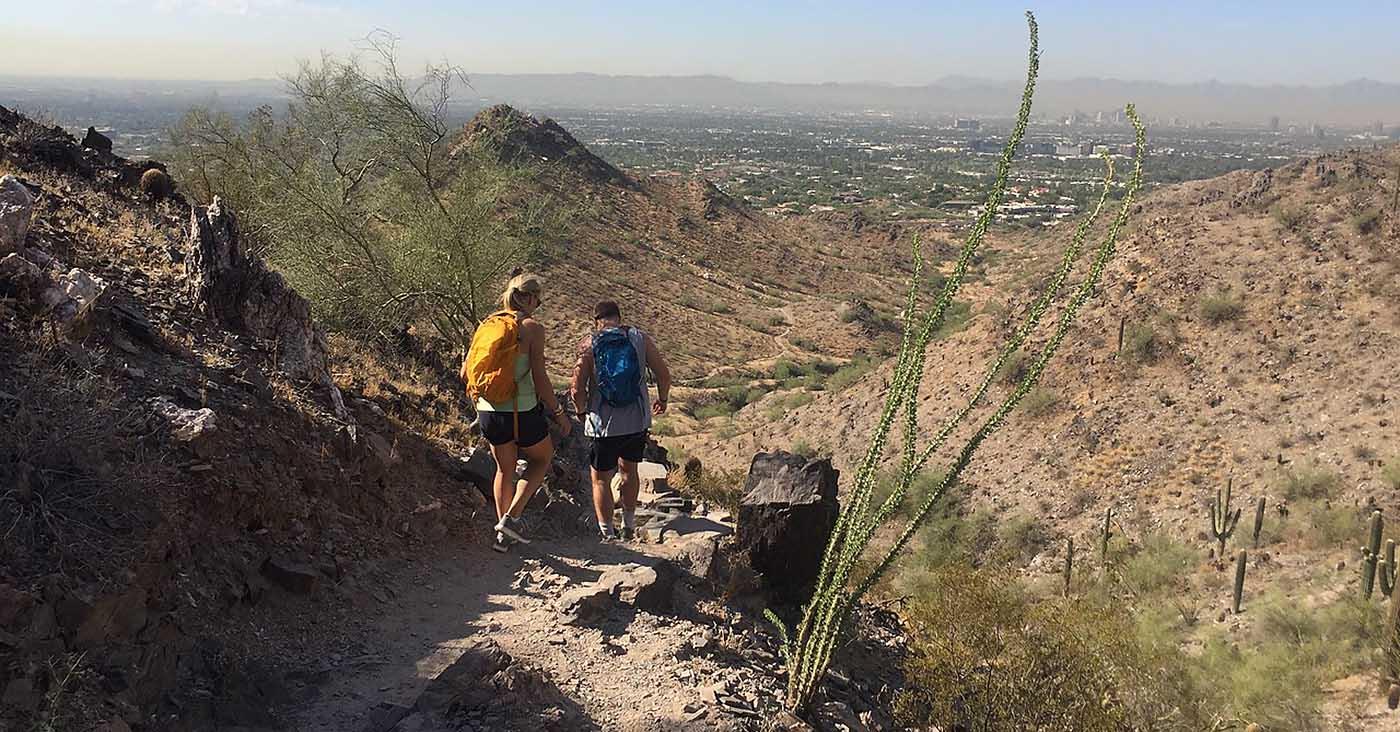 Quartz Ridge Trail Hiking tour in Phoenix Mountains Preserve