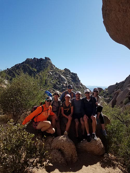 Group Hiking Tour in Phoenix AZ